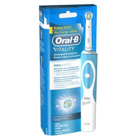Phillips Sonicare Toothbrush $ 97 (was $ 47) On RollbackUse $ 00/1 Phillips Sonicare Rechargeable Toothbrush from SS 11/20Submit $ 00 Mail in Rebate from SS 11/20= $ 97Oral-B CrossAction Rechargeable Toothbrush: $ 82Use-$10/1 Oral-B Vitality or other Rechargeable E.