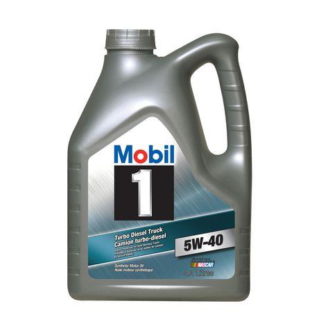 Mobil 1 turbo diesel truck engine oil for Diesel motor oil comparison