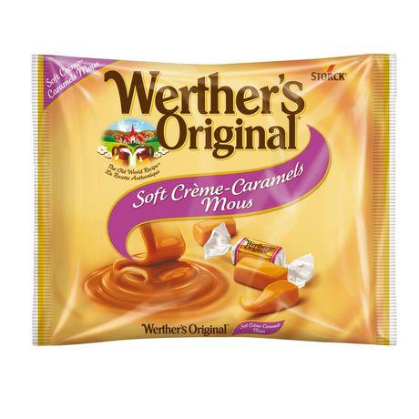 Werther's Original Soft Crème Caramels Candy | Walmart.ca