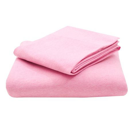 mainstays jersey knit cotton sheet set. Black Bedroom Furniture Sets. Home Design Ideas