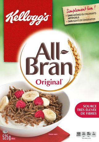 Kellogg S All Bran Original Cereal 525g Walmart Canada