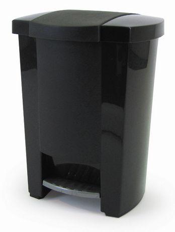 poubelle p dale classique mistral en noir. Black Bedroom Furniture Sets. Home Design Ideas
