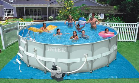 Intex 16 X 48 Ultra Frame Pool Set Walmart Ca