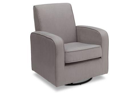 chaise ber ante coulissante charlotte de delta gris. Black Bedroom Furniture Sets. Home Design Ideas