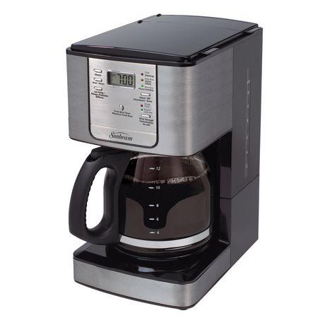 Sunbeam Programmable Coffee Maker Reviews : Sunbeam 12-Cup Programmable Coffeemaker Walmart.ca