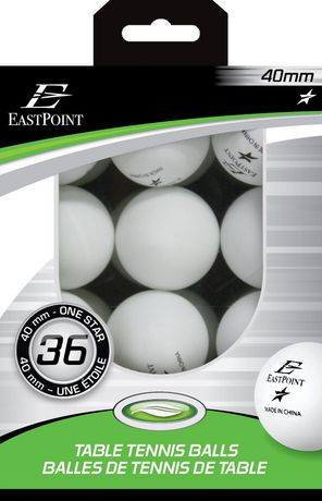 40 mm 1 star white table tennis balls 36 39 s for 1 star table tennis balls