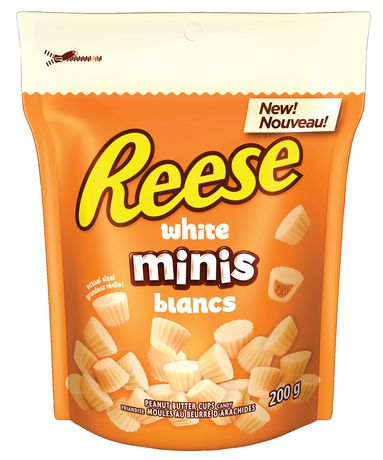 Reese White Minis Peanut Butter Cups Candy
