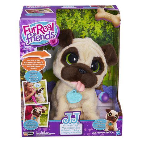 Furreal Friends Jj, My Jumpin Pug Plush Pet Na Aa