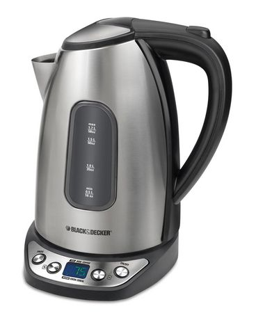 Black & Decker Programmable Digital Kettle | Walmart.ca