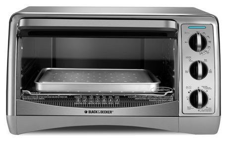 Black Amp Decker 6 Slice Convection Oven Walmart Canada