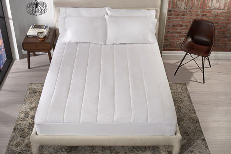 Sunbeam Quilted Heated Mattress Pad Walmart Ca