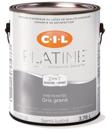 cil platinum interior paint pre tinted granite gray 3