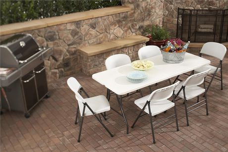 Table pliante 6 39 cosco for Table pliante walmart
