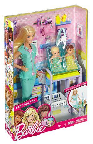 Barbie Baby Doctor, Blonde | Walmart.ca