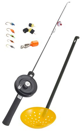 Celsius complete ice fishing kit at for Fishing kit walmart