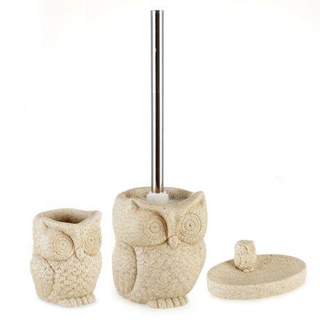 . Mainstays Kids Owl Toilet Brush   Walmart ca