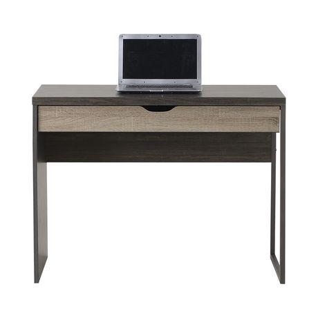 bureau pour ordinateur portable avec un tiroir de homestar en bois r cup r. Black Bedroom Furniture Sets. Home Design Ideas