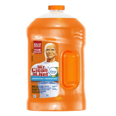 Mr. Clean With Febreze Citrus & Light Disinfectant Liquid Cleaner
