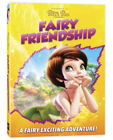 the new adventures of peter pan fairy friendship dvd