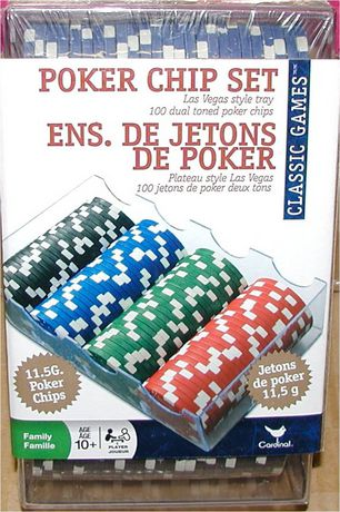 poker chips set walmart