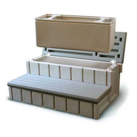 Escalier pour spa avec espace d 39 entreposage int gr - Escalier avec rangement integre ...