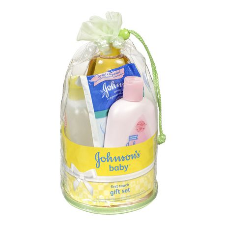 Johnson's Baby Johnson's Baby First Touch Gift Set, 5 Items