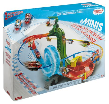 fisher price thomas friends minis motorized raceway