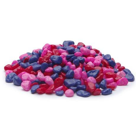 Gravier d coratif marina rose violet et rouge 2 kg 4 for Gravier decoratif rouge