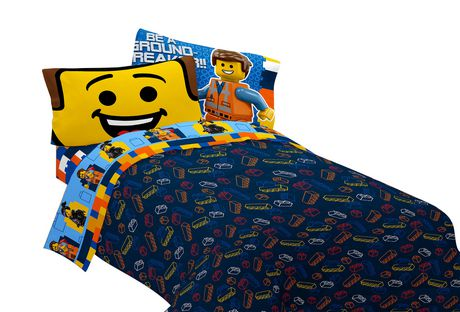 LEGO Movie  Extraordinary  Reversible Comforter Walmart ca     Lakers  Bedding. Lakers Bedding Set Full   Tokida for