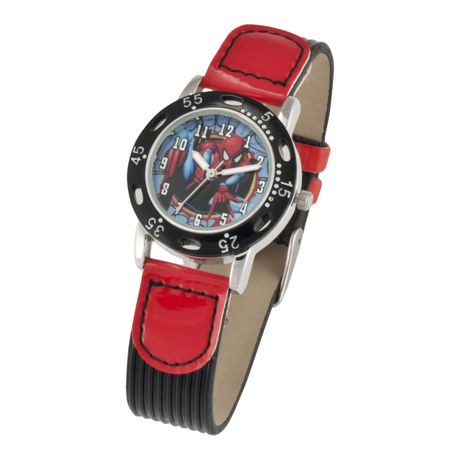 Boys 39 spiderman analog watch walmart canada for Spiderman watches