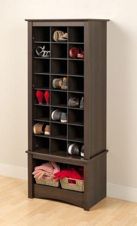 cabinet de rangement chaussures format haut walmart canada. Black Bedroom Furniture Sets. Home Design Ideas