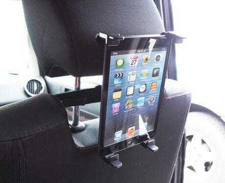 support de tablette pour si ge d 39 auto d 39 exian noir. Black Bedroom Furniture Sets. Home Design Ideas