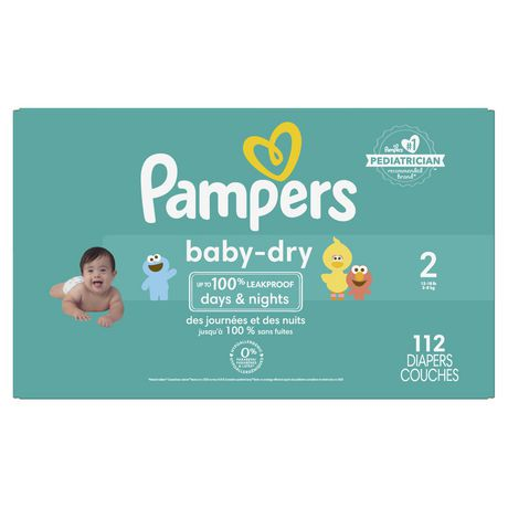 Couches pampers baby dry taille 5 walmart canada - Couches pampers baby dry ...