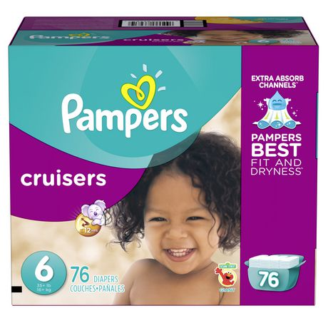 Pampers couches cruisers format g ant for Pampers couche piscine