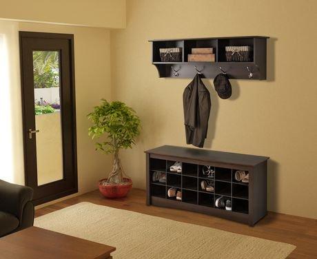 banc compartiments pour chaussures. Black Bedroom Furniture Sets. Home Design Ideas