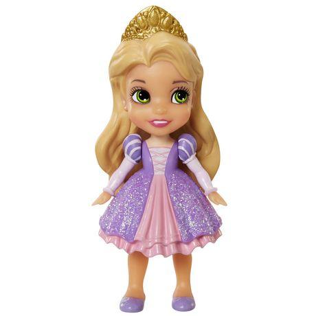 Disney Princess Mini Toddler Figurine Doll Rapunzel