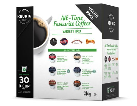 Keurig All Time Favourite Coffees Variety Box