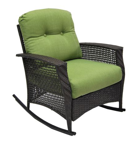 Hometrends Tuscany Wicker Rocking Chair