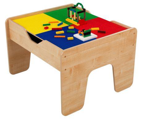 table d 39 activit s 2 en 1 avec planchette compatible lego. Black Bedroom Furniture Sets. Home Design Ideas