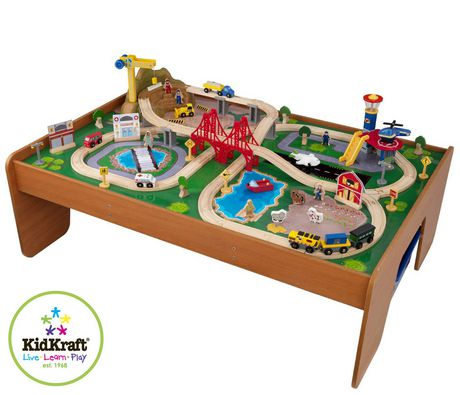 Ride Around Town Train Set With Table Walmart Ca