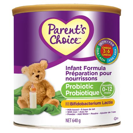 Parent S Choice Milk Based Probiotic Infant Formula