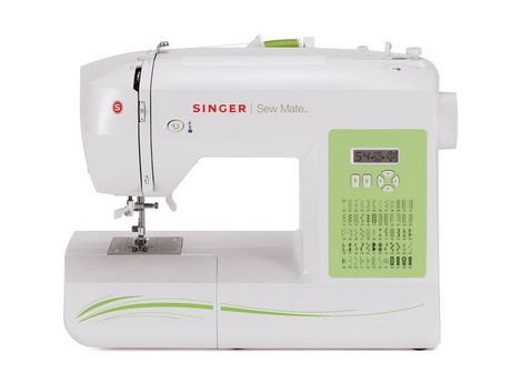 Machine coudre sew mate mc 5400 de singer md for Machine a coudre walmart