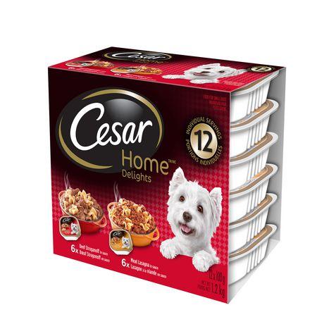 Cesar Dog Food Quantity