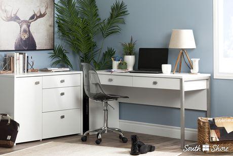 meuble de rangement avec tiroir classeur interface de meubles south shore. Black Bedroom Furniture Sets. Home Design Ideas