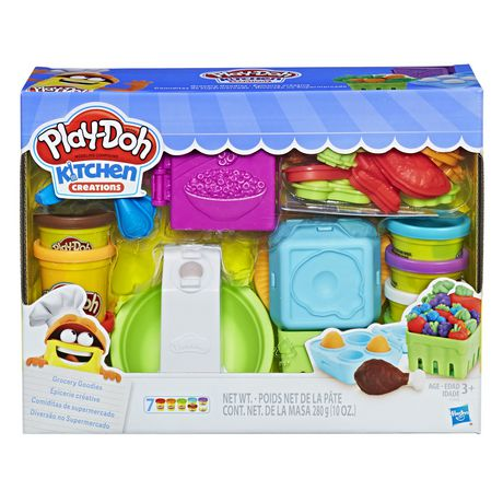Play-Doh Kitchen Creations Grocery Goodies Multi