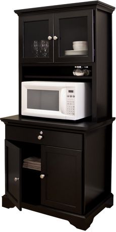 MAINSTAYS Kitchen Armoire - Black | Walmart.ca