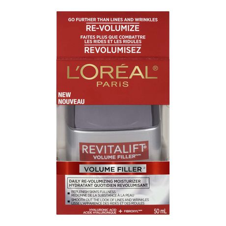 l 39 oreal paris revitalift volume filler cr me jour anti ge avec acide hyaluronique 50 ml. Black Bedroom Furniture Sets. Home Design Ideas