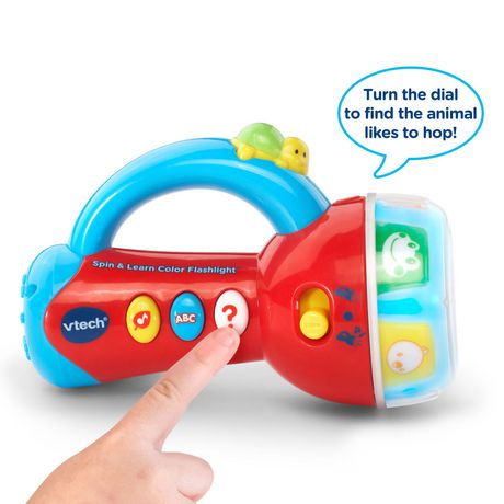 VTech Spin and Learn Color Flashlight - UberDeal.ca ...
