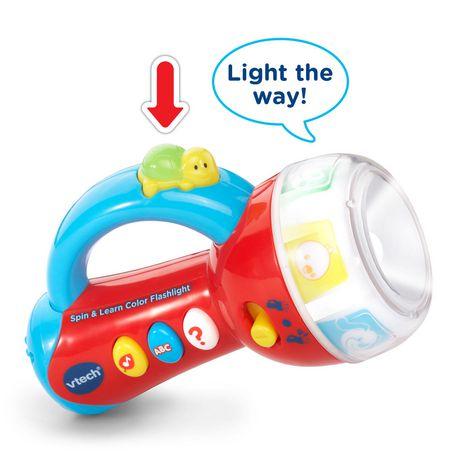 Vtech Spin Learn Color Flashlight - Lime Green - Online ...