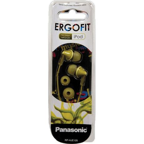 Panasonic RPHJE125 Noise Isolating Ergofit Earbuds ...